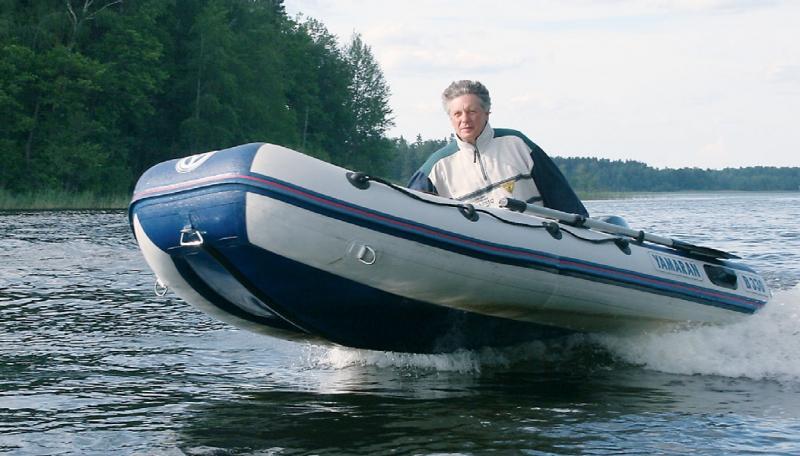 лодка ямаран толщина лодки